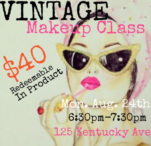 Vintage Makeup Class